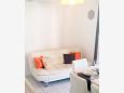 Zaton, Dining room u smještaju tipa apartment, dostupna klima i WIFI.