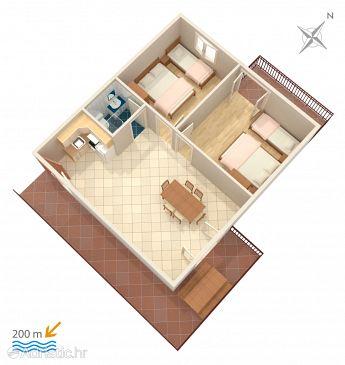 Apartment A-2987-b - Apartments Vinišće (Trogir) - 2987