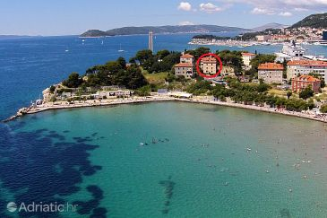 Property Split (Split) - Accommodation 2990 - Apartments near sea with sandy beach.