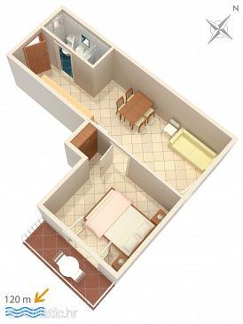 Apartment A-300-d - Apartments Baška Voda (Makarska) - 300