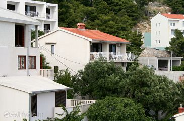 Property Baška Voda (Makarska) - Accommodation 300 - Apartments near sea with pebble beach.