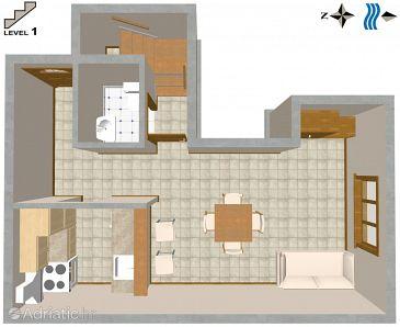 Apartment A-3001-e - Apartments Split (Split) - 3001