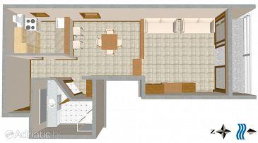 Studio flat AS-3001-a - Apartments Split (Split) - 3001