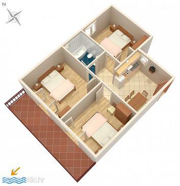 Apartment A-3011-b - Apartments Rabac (Labin) - 3011