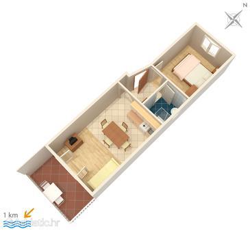 Apartment A-3012-d - Apartments and Rooms Premantura (Medulin) - 3012
