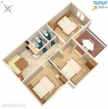 Apartment A-3015-e - Apartments Rabac (Labin) - 3015