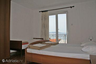 Klenovica, Bedroom u smještaju tipa room, dostupna klima i WIFI.