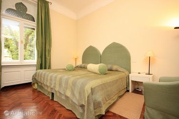 Lovran, Bedroom u smještaju tipa room, dostupna klima i WIFI.