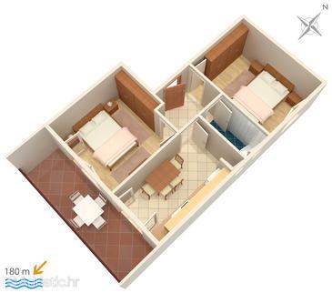 Apartment A-3030-a - Apartments Selce (Crikvenica) - 3030