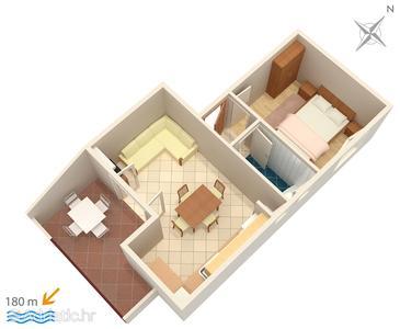 Apartment A-3030-b - Apartments Selce (Crikvenica) - 3030