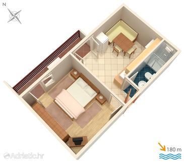Apartment A-3030-d - Apartments Selce (Crikvenica) - 3030