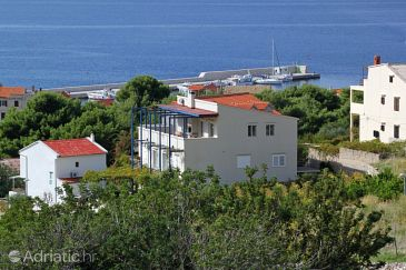 Komiža, Vis, Property 3032 - Apartments with pebble beach.