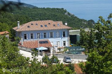 Beli, Cres, Property 3048 - Rooms with pebble beach.
