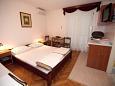 Bedroom - Studio flat AS-3059-a - Apartments Baška Voda (Makarska) - 3059