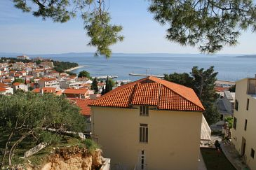 Property Baška Voda (Makarska) - Accommodation 3059 - Apartments with pebble beach.