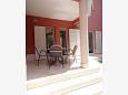 Šimuni, Terrace u smještaju tipa apartment, dopusteni kucni ljubimci i WIFI.