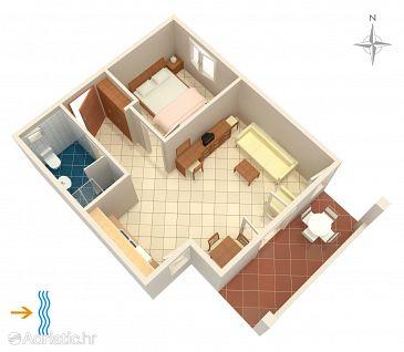 Apartment A-3094-a - Apartments Rogoznica (Rogoznica) - 3094