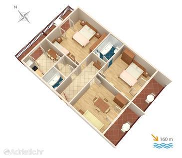 Apartment A-313-a - Apartments Podaca (Makarska) - 313