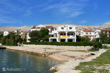 Property Pag (Pag) - Accommodation 3152 - Apartments and Rooms near sea with pebble beach.