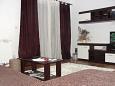 Žrnovska Banja, Living room u smještaju tipa apartment, dostupna klima i dopusteni kucni ljubimci.