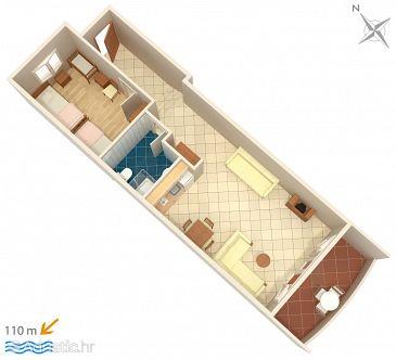 Apartment A-3162-b - Apartments Trpanj (Pelješac) - 3162