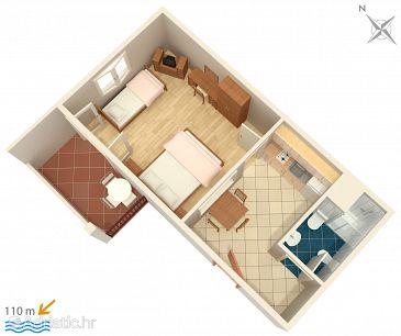 Apartment A-3162-h - Apartments Trpanj (Pelješac) - 3162