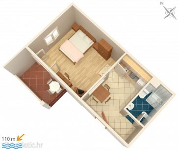 Apartment A-3162-i - Apartments Trpanj (Pelješac) - 3162