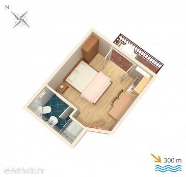 Studio flat AS-3167-a - Apartments Mlini (Dubrovnik) - 3167
