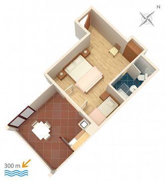 Studio AS-3167-b - Apartamenty Mlini (Dubrovnik) - 3167