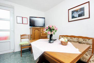 Cavtat, Dining room u smještaju tipa apartment, dopusteni kucni ljubimci i WIFI.