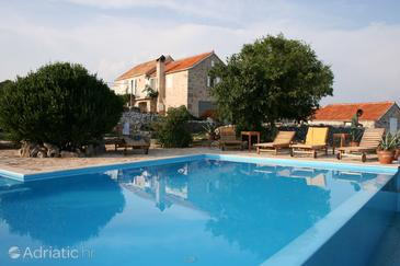 Property Humac (Hvar) - Accommodation 3170 - Vacation Rentals with pebble beach.