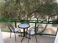 Balcony 2 - Apartment A-318-a - Apartments Tučepi (Makarska) - 318