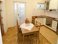 Tučepi, Dining room u smještaju tipa apartment, dostupna klima i WIFI.