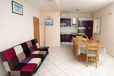 Mlini, Living room u smještaju tipa apartment, dopusteni kucni ljubimci i WIFI.