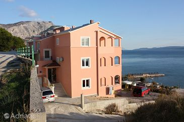 Property Duće (Omiš) - Accommodation 3185 - Apartments with sandy beach.