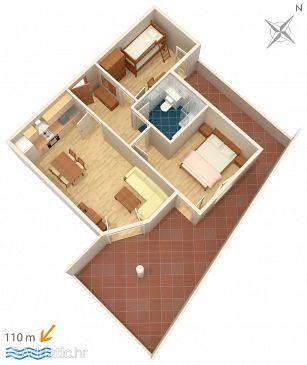 Apartment A-3193-n - Apartments Tučepi (Makarska) - 3193