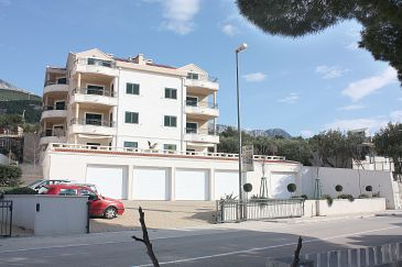 Property Tučepi (Makarska) - Accommodation 3193 - Apartments near sea with pebble beach.