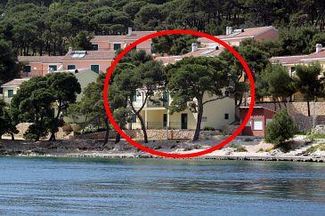 Rogoznica, Rogoznica, Obiekt 3198 - Apartamenty blizu mora ze żwirową plażą.