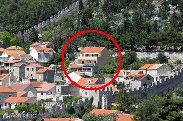 Property Hvar (Hvar) - Accommodation 3229 - Apartments with pebble beach.