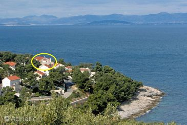 Property Postira (Brač) - Accommodation 3244 - Apartments near sea with pebble beach.