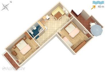 Apartment A-325-a - Apartments Neviđane (Pašman) - 325