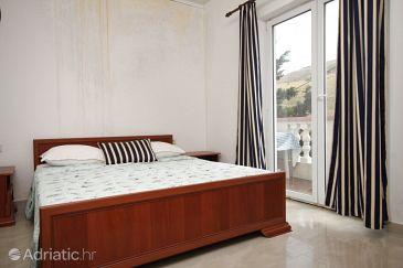 Metajna, Bedroom u smještaju tipa room, dostupna klima, dopusteni kucni ljubimci i WIFI.