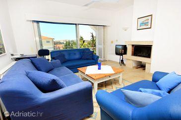 Pješčana Uvala, Living room u smještaju tipa house, dopusteni kucni ljubimci i WIFI.
