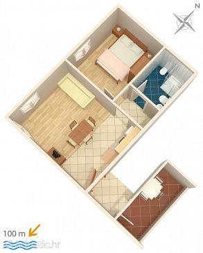 Apartment A-3349-d - Apartments Novigrad (Novigrad) - 3349