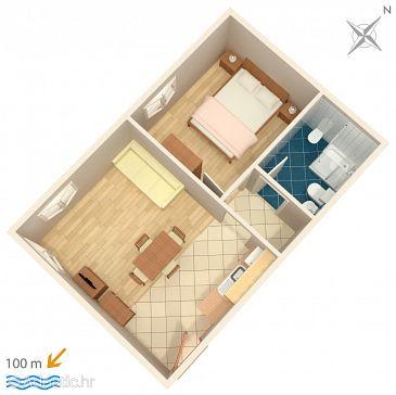Apartment A-3349-f - Apartments Novigrad (Novigrad) - 3349