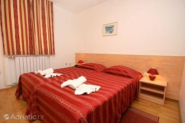 Novigrad, Bedroom u smještaju tipa room, dostupna klima i WIFI.