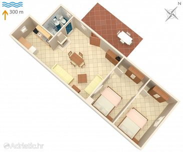 Apartment A-3360-c - Apartments Umag (Umag) - 3360