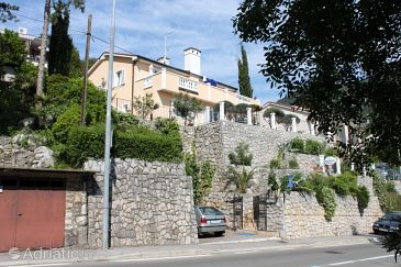 Property Medveja (Opatija) - Accommodation 3435 - Apartments near sea with pebble beach.