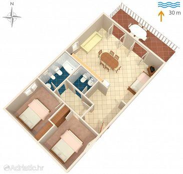 Apartment A-345-a - Apartments Kali (Ugljan) - 345