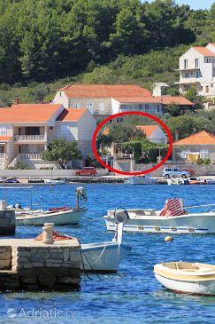 Property Lumbarda (Korčula) - Accommodation 3554 - Apartments near sea.